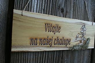 """Tabuľky - tabuľka """"Vitajte 4"""" - 12126510_"""