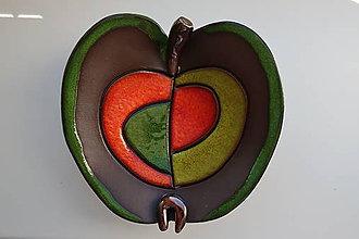 Nádoby - Keramická miska - jabĺčko - 12126473_