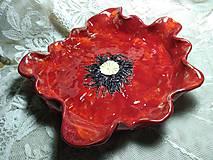 Nádoby - keramika misa vlčí mak... - 12127894_