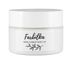 Farby-laky - Farbilka 100ml - snehovobiela - 12125577_