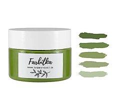Farby-laky - Farbilka 100ml - trávičková zelená - 12125638_