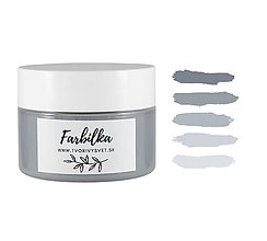 Farby-laky - Farbilka 100ml - betónová sivá - 12125645_