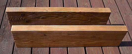 Nábytok - Polica masívne drevo - 12125661_