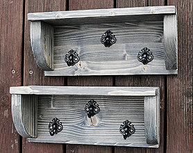 Nábytok - Vešiak s poličkou - 12125715_