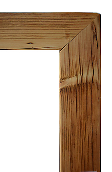 Zrkadlá - Zrkadlo staré drevo hladké - 12125816_