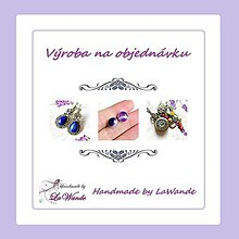 Sady šperkov - Classic Angelite Silver Ag925 Earrings  / Strieborné náušnice s angelitom - 12131124_