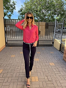 Košele - Dámska košeľa Pink - 12129774_