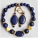 Sady šperkov - Lapis lazuli- variácie - 12130707_