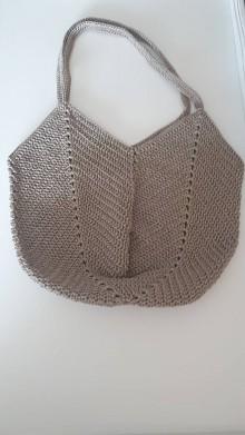 Nákupné tašky - Hačkovana taška - 12129690_