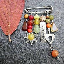 Odznaky/Brošne - Jesenná - brošňa na želanie - 12130820_