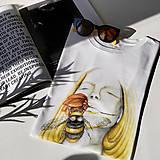 Tričká - Dreaming - biele tričko - 12130540_