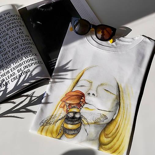 Dreaming - biele tričko