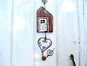 Dekorácie - závesná dekorácia - starý mlyn - 12128150_