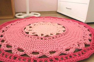 Úžitkový textil - Hrubý a odolný koberec do dievčenskej izby - 12132089_