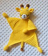 Hračky - Mojkáčik žirafka - 12135251_