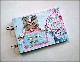 Papiernictvo - Fotoalbum svadobný * svadobný album * kniha hostí A5 - 12133557_