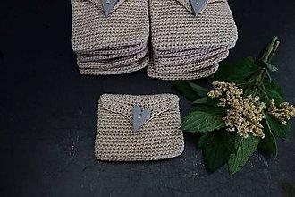 Taštičky - bavlnená darčeková taštička na bylinky/semienka - 12132299_