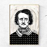 - Obraz Edgar Allan Poe (print) - 12132006_