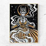 - Obraz Čarodejnica (print) - 12132022_