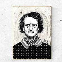 Obrazy - Obraz Edgar Allan Poe (print) - 12132006_