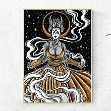 Grafika - Obraz Čarodejnica | print - 12132022_