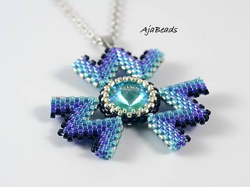 Wanda - prívesok - modrá