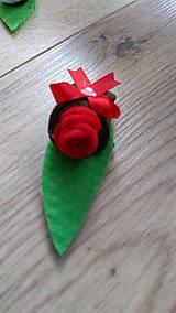 Pierka - Pierko červená ružička - 12134072_