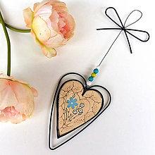 Dekorácie - Srdeční záležitosti No.4.-srdíčko z lásky dané - 12131846_