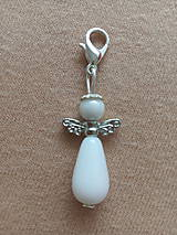 Iné šperky - Anjel na karabínke - 12132320_