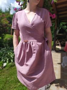 Šaty - Zavinovacie šaty - 12133141_