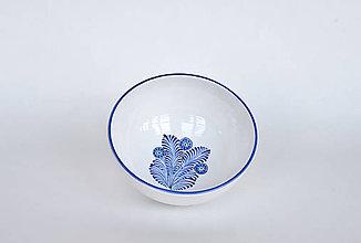 Nádoby - Miska modré pierko - 12136537_