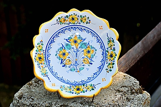 Nádoby - Habánsky tanier - 12136095_