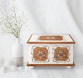 - Maľovaná svadobná truhlica II (rôzne veľkosti) - 12136598_