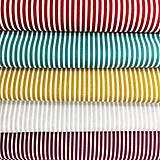 pásiky, 100 % bavlna Francúzsko, šírka 140 cm
