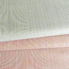 Textil - tenké zvislé pásiky, 100 % bavlna Francúzsko, šírka 150 cm - 12135910_