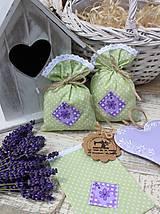 Úžitkový textil - Vrecko -kvietok - 12135870_