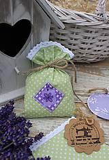 Úžitkový textil - Vrecko -kvietok - 12135874_