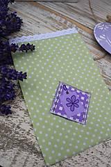 Úžitkový textil - Vrecko -kvietok - 12135875_