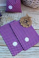 Úžitkový textil - Vrecko -kvietok - 12135878_