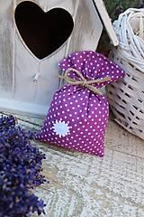 Úžitkový textil - Vrecko -kvietok - 12135879_