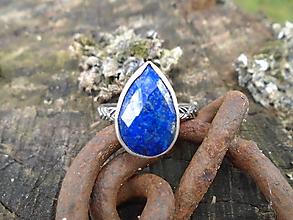 Prstene - Strieborny prsteň Ag 925 Lapis Lazuli - 12137208_