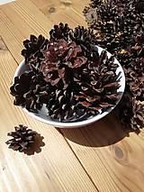 Suroviny - Šišky - borovica lesná - 3 - 4,5 cm - 12136928_