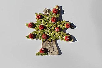 Dobrý obchod - Umenie_srdca: Keramický stromček 4 ročné obdobia, 1 ks (Jar) - 12137525_