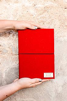 Papiernictvo - A5 zápisník s čistými stranami - 12137218_