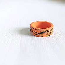 Prstene - Pomaranč s borievkou (zadarmo k nákupu) - 12139419_