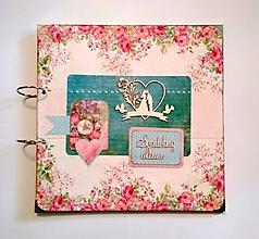 Papiernictvo - Fotoalbum 30x30 cm svadobný MAXI album - 12140108_