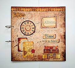 Papiernictvo - Fotoalbum 30x30 cm MAXI album  rodinný album - 12140121_