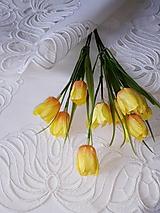 Úžitkový textil - Richelieu - Listy v tvare kvetu, biela, 35 x 101 cm - 12140369_