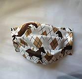 Rúška - Ochranné rúško detské - jednovrstvové - skladom - 12139731_