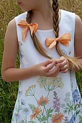 Detské oblečenie - Šatočky Lúčne kvety - 12143831_